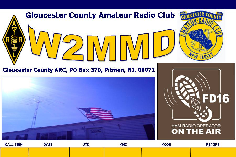 GCARC eQSL Card for Field Day 2016