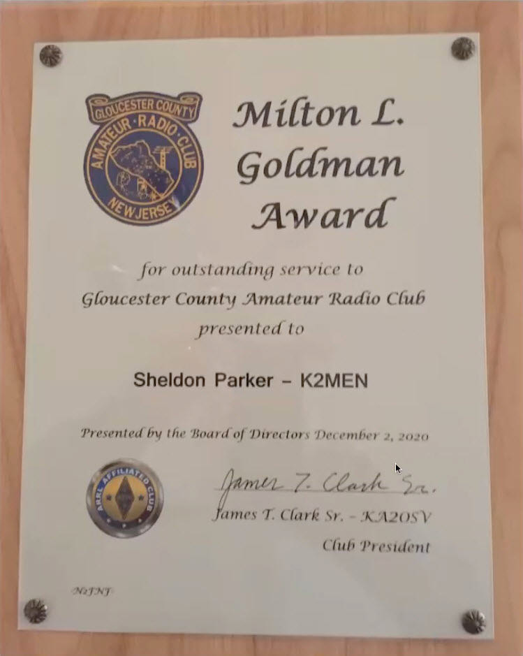 K2MEN Milt Goldman Award