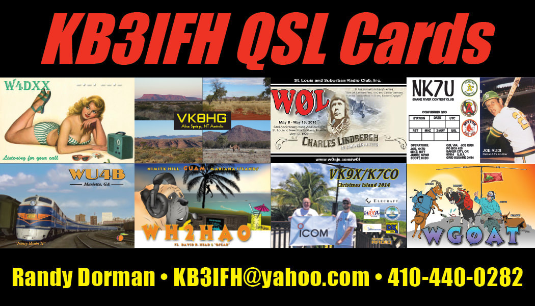 KB3IFH QSL Cards